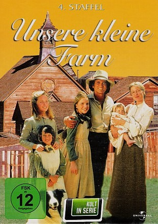 Unsere kleine Farm - Die komplette 4. Staffel (6-DVD)