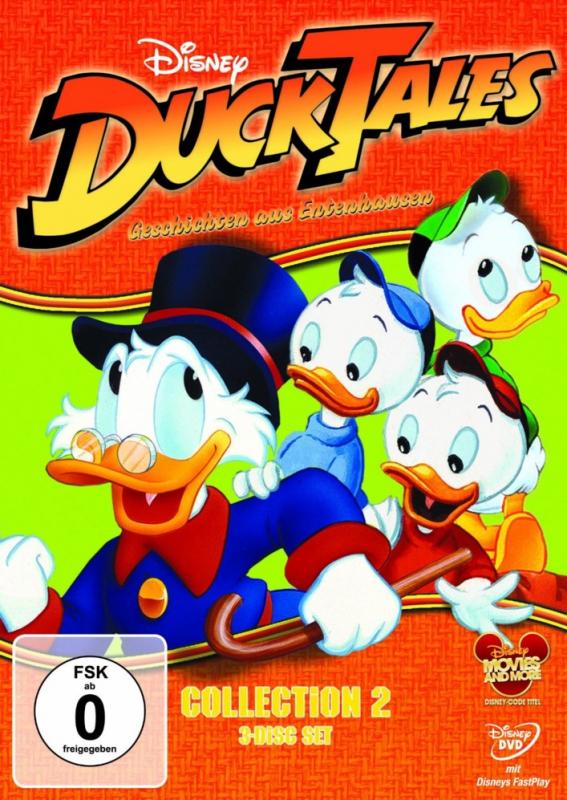Ducktales: Geschichten aus Entenhausen - Collection 2 (3-DVD)