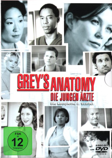 Greys Anatomy - Die komplette 2. Staffel (8-DVD)