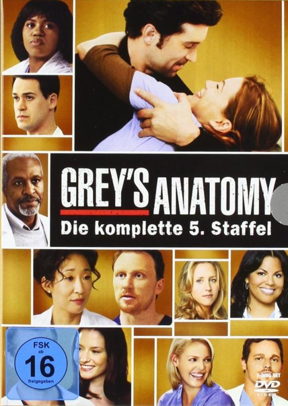 Greys Anatomy - Die komplette 5. Staffel (7-DVD)