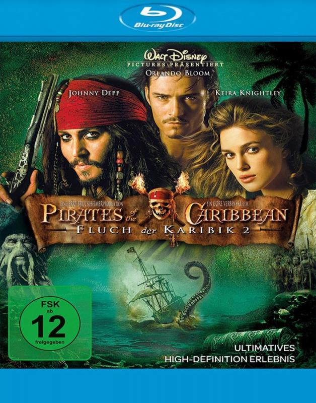 Fluch der Karibik 2: Pirates of the Caribbean (Blu-ray)