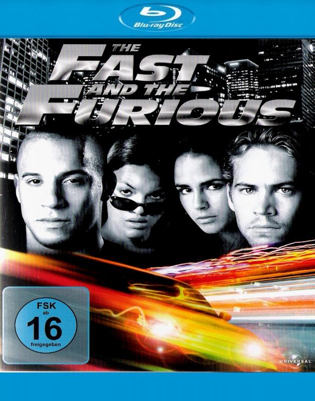 Fast & Furious 1 (Blu-ray)