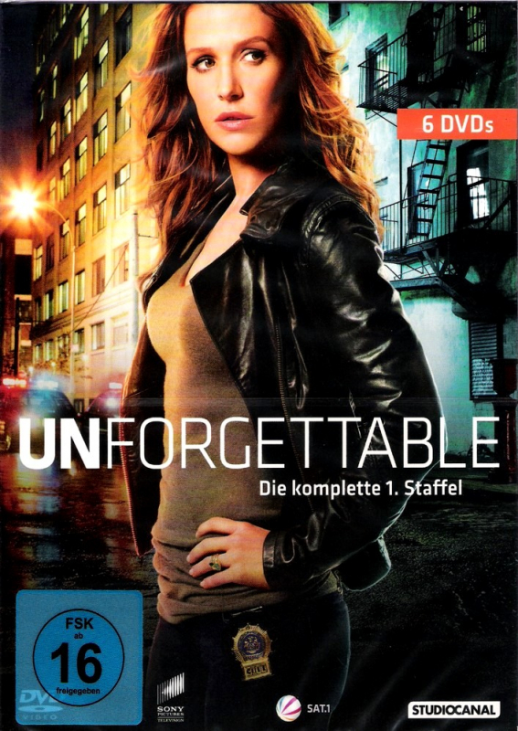 Unforgettable - Die komplette 1. Staffel (6-DVD)