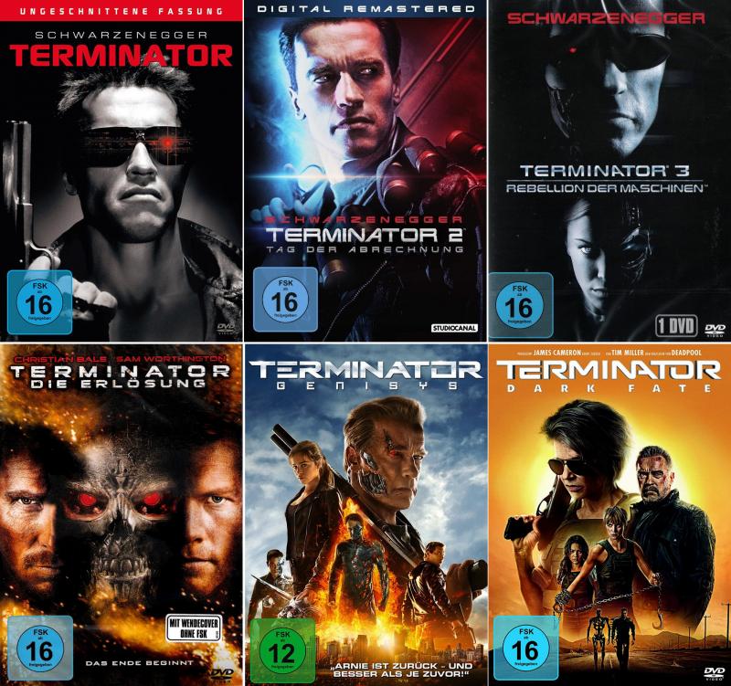 Terminator 1 - 6 Collection (6-DVD)