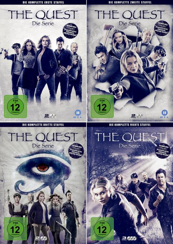 The Quest: Die Serie - Die komplette 1. - 4. Staffel (9-DVD)