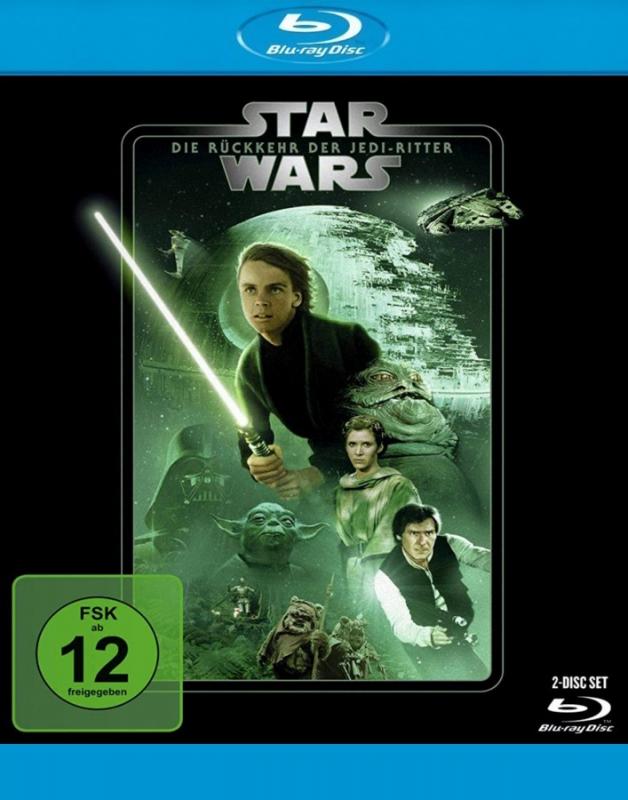 Star Wars: Episode 6 - Die Rückkehr der Jedi-Ritter (2-Blu-ray)
