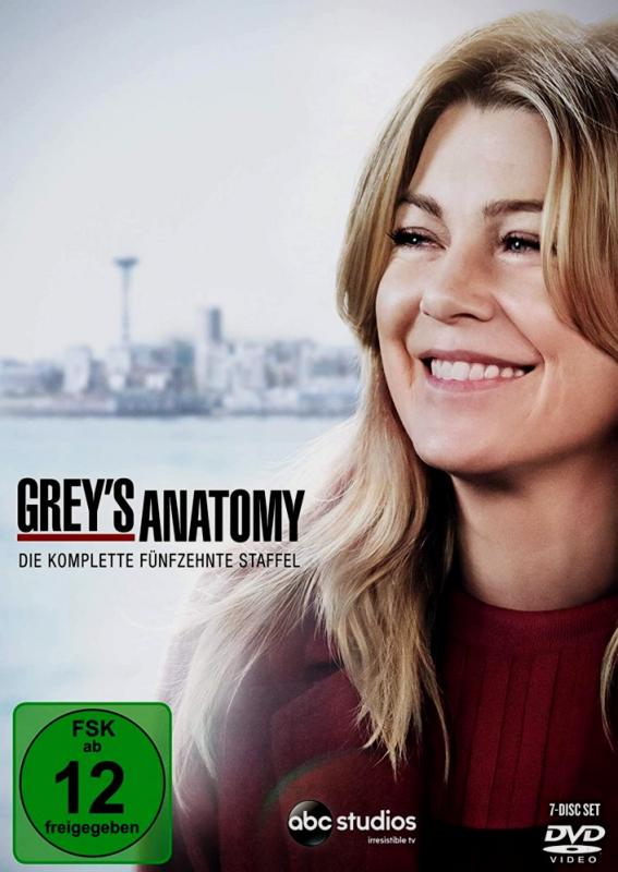 Greys Anatomy - Die komplette 15. Staffel (7-DVD)