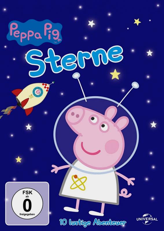 Peppa Pig: Sterne - Volume 8 (DVD)