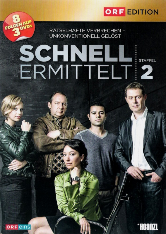 Schnell ermittelt - Die komplette 2. Staffel (3-DVD)