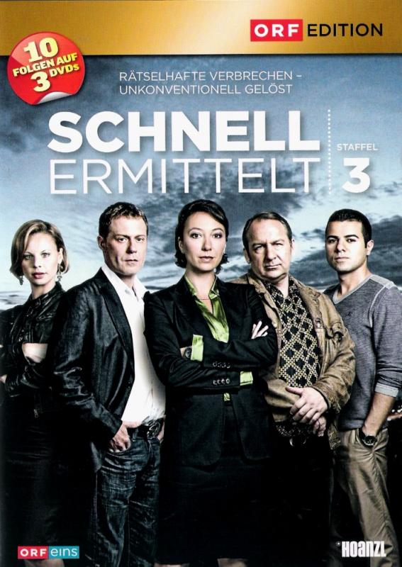 Schnell ermittelt - Die komplette 3. Staffel (3-DVD)