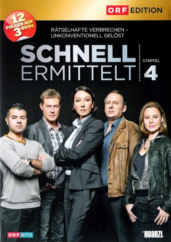 Schnell ermittelt - Die komplette 4. Staffel (3-DVD)