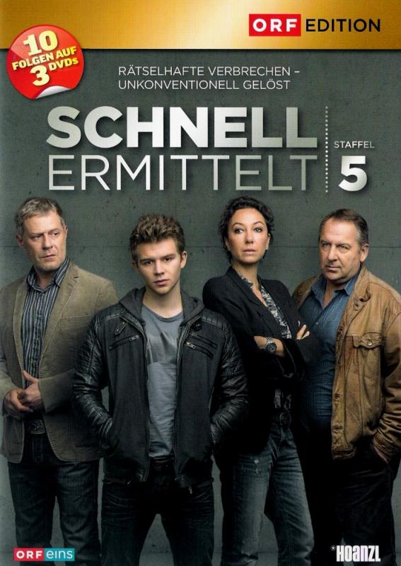 Schnell ermittelt - Die komplette 5. Staffel (3-DVD)