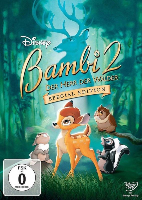 Bambi 2:  Der Herr der Wälder - Special Edition (DVD)