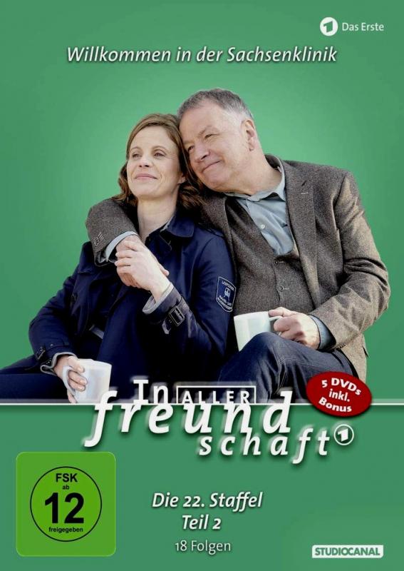In aller Freundschaft - Die komplette Staffel 22.2 (5-DVD)