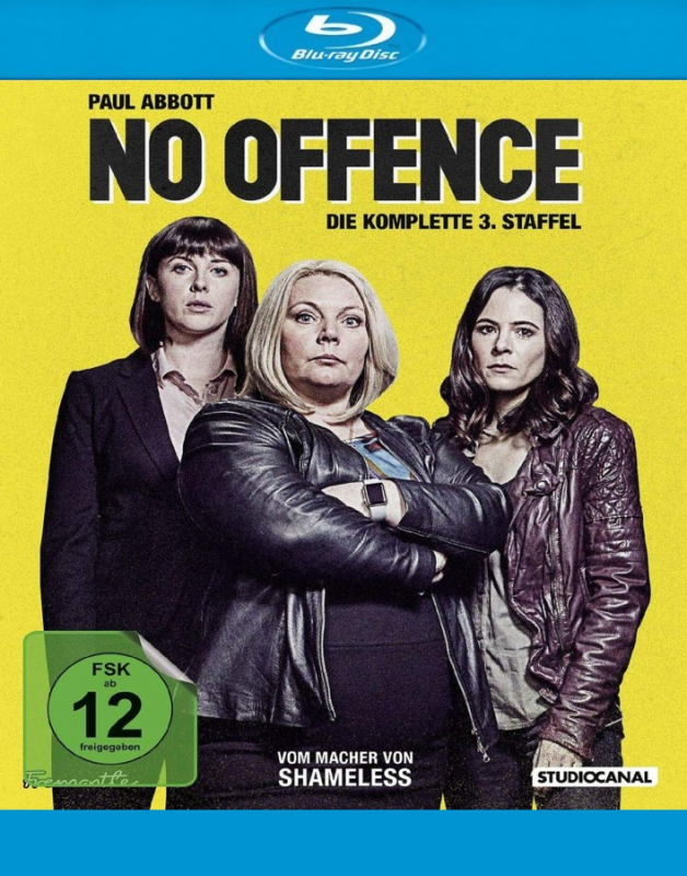 No Offence - Die komplette 3. Straffel (2-Blu-ray)