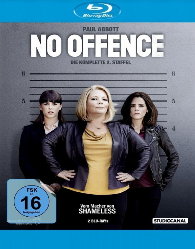 No Offence - Die komplette 2. Straffel (2-Blu-ray)