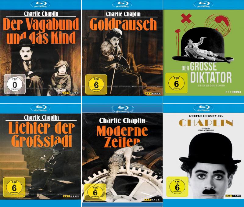 Charlie Chaplin Bundle + Chaplin (6-Blu-ray)