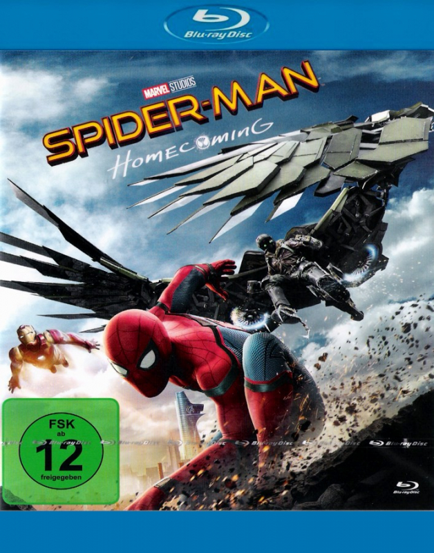 Spider-Man - Homecoming  (Blu-ray)
