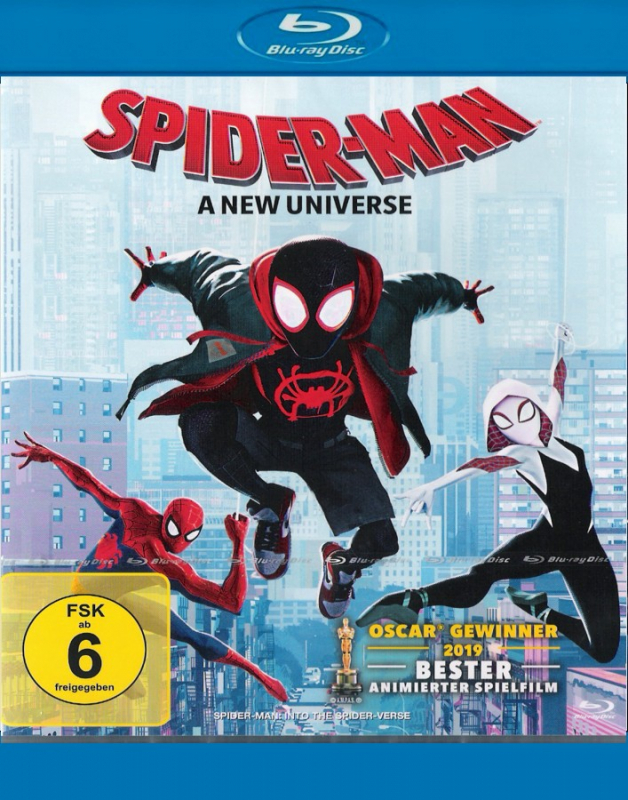 Spider-Man - A New Universe  (Blu-ray)