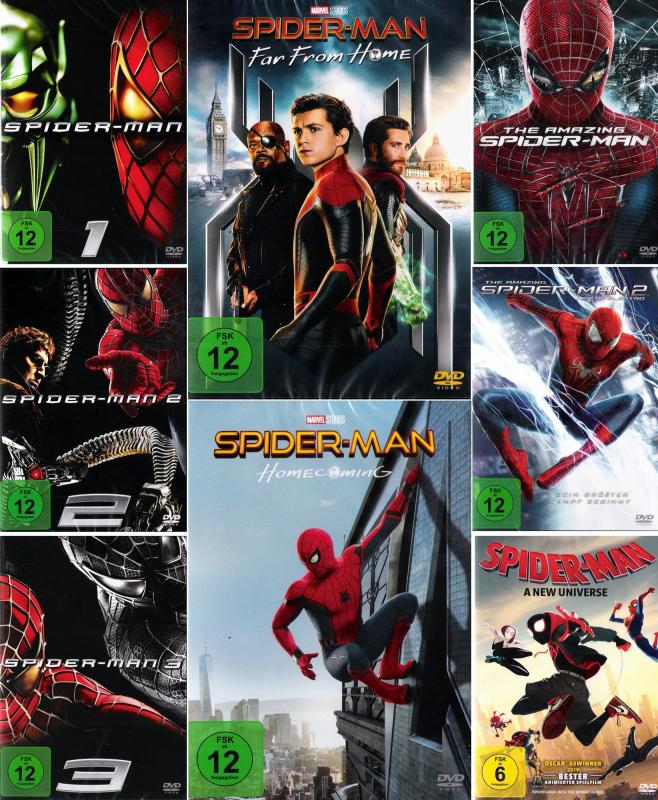 Spider-Man Bundle (8-DVD)