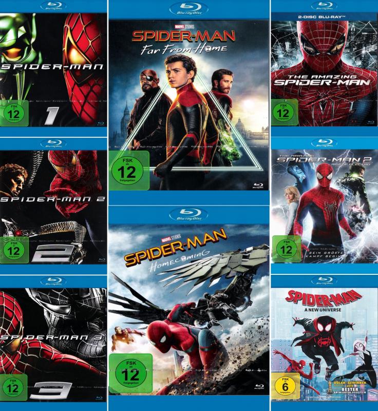 Spider-Man Mega Bundle (9-Blu-ray)