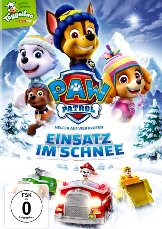 Paw Patrol: Einsatz im Schnee - Volume 17 (DVD)
