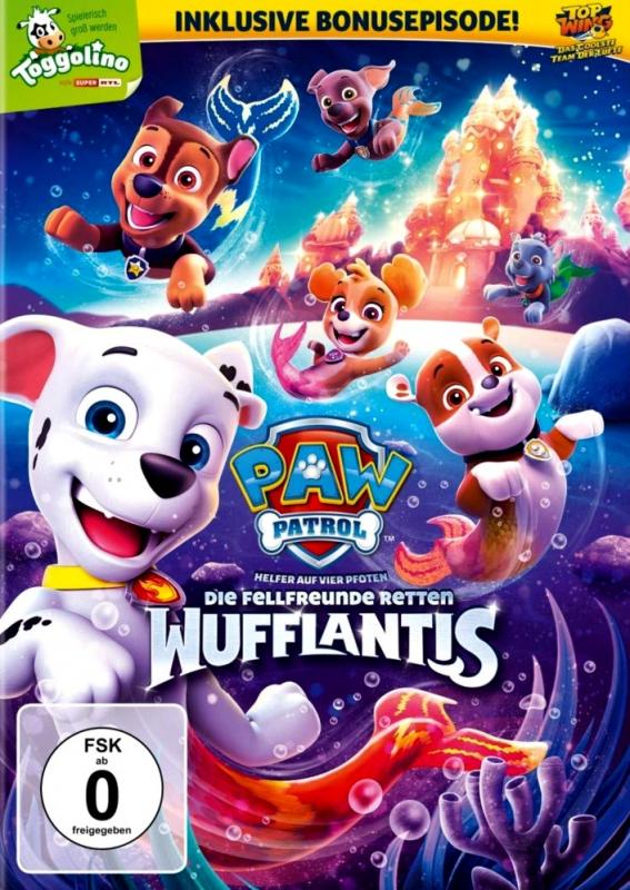 Paw Patrol: Die Fellfreunde retten Wufflantis - Volume 18 (DVD)