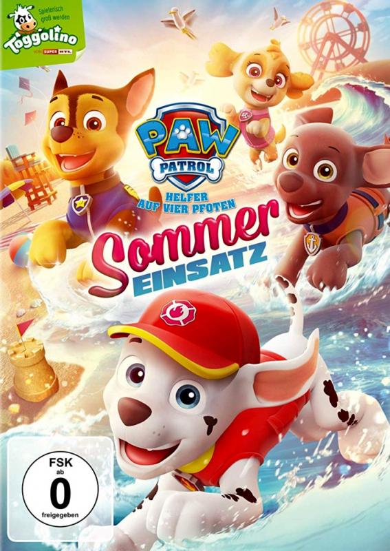 Paw Patrol: Sommer Einsatz - Volume 19 (DVD)