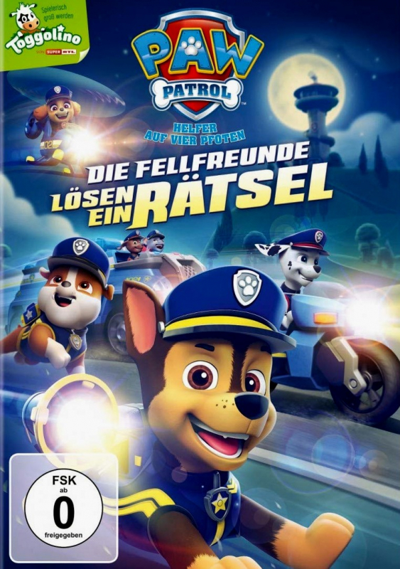 Paw Patrol: Die Fellfreunde lösen ein Rätsel - Volume 21 (DVD)