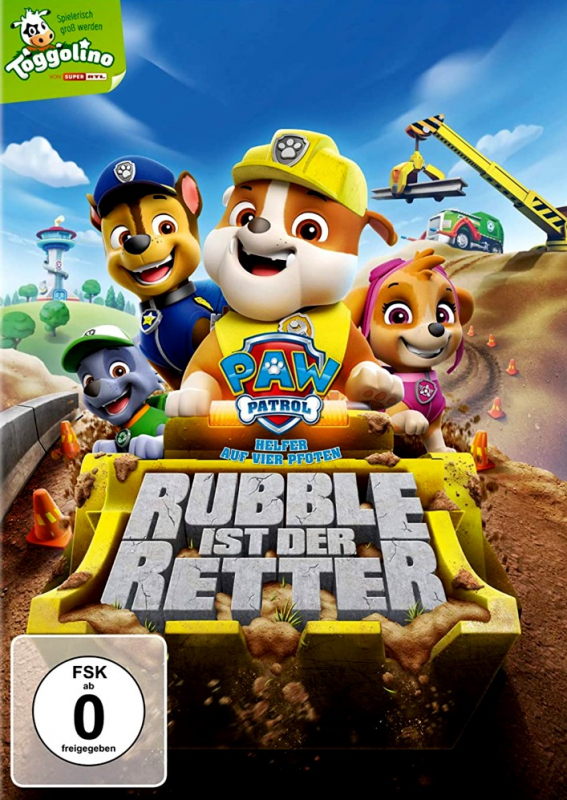 Paw Patrol: Rubble ist der Retter - Volume 23 (DVD)