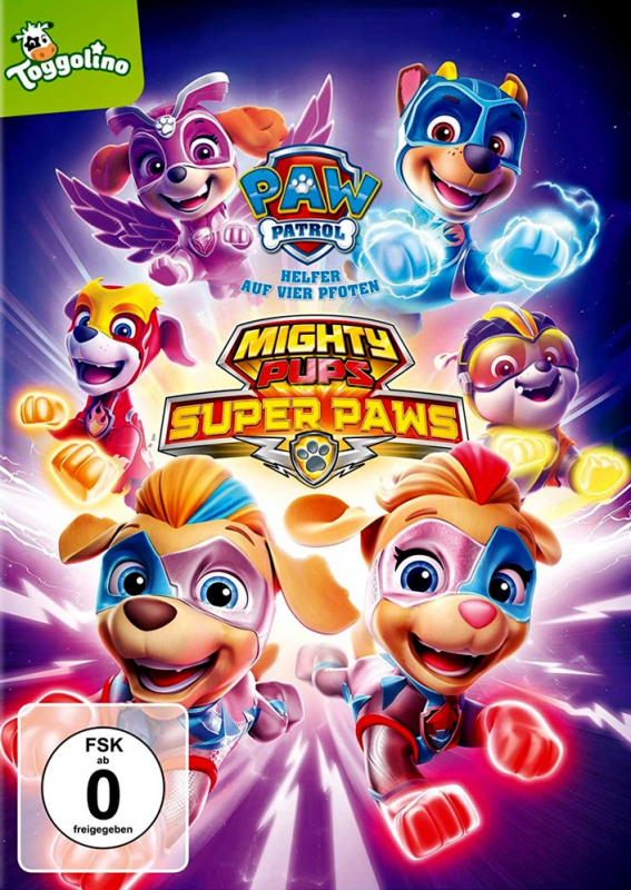 Paw Patrol: Mighty Pups Super Paws - Volume 25 (DVD)