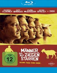 Männer, die auf Ziegen starren (Blu-ray)