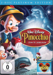 Pinocchio - Platinium Edition (2-DVD)