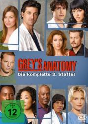 Greys Anatomy - Die komplette 3. Staffel (7-DVD)