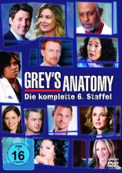 Greys Anatomy - Die komplette 6. Staffel (6-DVD)