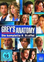 Greys Anatomy - Die komplette 8. Staffel (6-DVD)