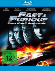 Fast & Furious 4: Neues Modell. Originalteile. (Blu-ray)