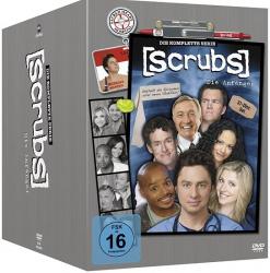Scrubs - Die Anfänger - Die komplette Serie (31-DVD)