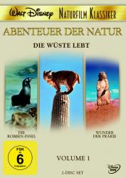 Abenteuer der Natur - Volume 1 / Die Wüste lebt (2-DVD)