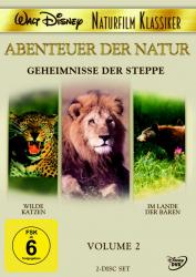 Abenteuer der Natur - Volume 2 / Geheimnisse der Steppe (2-DVD)
