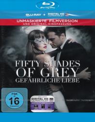 Fifty Shades of Grey 2 - Gefährliche Liebe - Unmaskierte Filmversion + Kinofassung (Blu-ray)