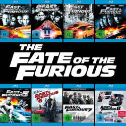 Fast & Furious 1 - 8 Collection (8-Blu-ray)