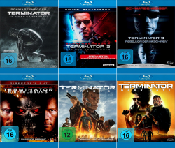 Terminator 1 - 6 Collection (6-Blu-ray)