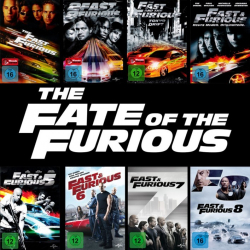 Fast&Furious 1 - 8 Collection (8-DVD)