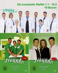 In aller Freundschaft - Die komplette 1. - 10. Staffel (1.1 - 10.2) (100-DVD)