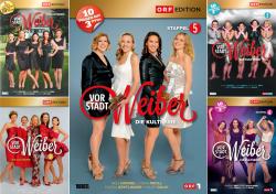 Vorstadtweiber - Die komplette1. - 5. Staffel | ORF Edition (15-DVD)