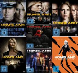 Homeland - Die komplette 1. - 7. Staffel (28-DVD)