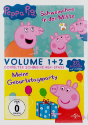 Peppa Pig - Volume 1 + 2 (2-DVD)