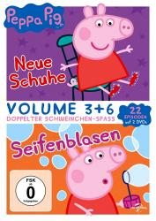 Peppa Pig - Volume 3 + 6 (2-DVD)