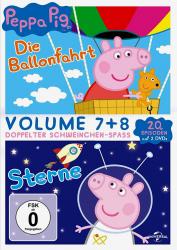 Peppa Pig - Volume 7 + 8 (2-DVD)